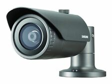 SAMSUNG QNO-7030R 4MP FULL HD OUTDOOR IR LED 6MM POE CCTV SECURITY BULLET CAMERA