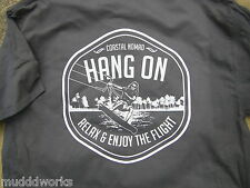 New Hang on Kite boarding surfing surf paddle T-shirt Coastal Nomad Sup ocean
