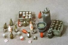 Verlinden 1/35 Bottles, Crates, Bucket and Cans [Resin Diorama Accessories] 76