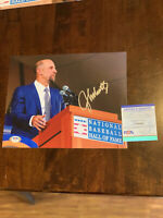 John Smoltz PSA DNA Coa Hand Signed 8x10 Photo Autograph