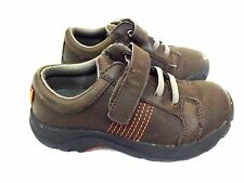 Keens Toddlers, Size 11 M UK 10 EU 29 Brown Slip On Shoes Leather Loafers