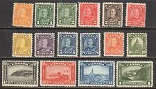 CANADA STAMPS #162-177  — KING GEORGE V 'ARCH' SET — 1930  — UNUSED