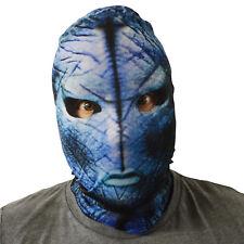 Alien Menace Design 5 colours 3D Effect Face Skin Lycra Fabric Face Mask Horror