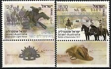 Israel 2013 Stamps 'AUSTRALIAN LIGHT HORSE IN BEER SHEVA'.MNH +TABS.(Very Nice).