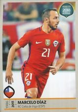 330 MARCELO DIAZ CHILE STICKER ROAD TO RUSSIA WORLD CUP 2018 PANINI