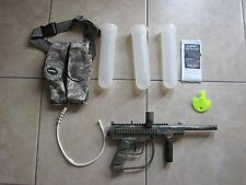 JT Outkast Paintball Marker with Ammo Pouch & 3 Pods