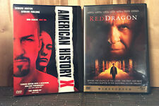 Edward Norton 2-Movie DVD Lot- American History X, Red Dragon