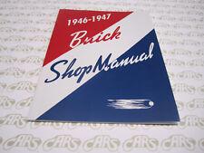 1946-1947 Buick Shop Manual. Special Super Roadmaster