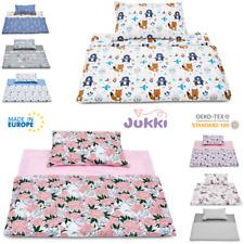 Kinderbettwäsche 2Tlg. 90 x 120 cm Bettwäsche Bettbezug Babybettwäsche Baumwolle
