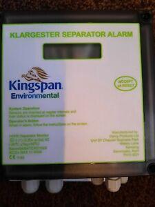 klargester seperator alarm