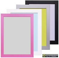 Black White Silver Picture Frame Photo Poster Frame Wood Effect A1 A2 A3 Frame