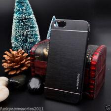Étuis, housses et coques noires simples en métal pour téléphone mobile et assistant personnel (PDA)