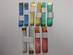 Schneidermaßband 1,50m 2 Stück verschiedene Farben
