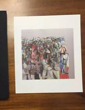 George Condo Print Compression I Drawing Paintings 2011 Kaws Retna Wes Lang Art