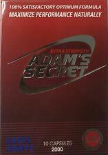 ADAM'S SECRET 2000, EXTRA STRENGTH 2000 MALE SEXUAL PERFORMANCE ENHANCEMENT PILL