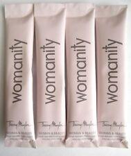 Thierry Mugler Womanity Perfumed Body Milk Travel Sample Packet 10 ml x 4 PCS
