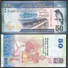 SRI LANKA 50 Rupees 2010 ( 2011 ) UNC P 124