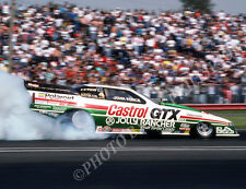 FUNNY CAR PHOTO JOHN FORCE DRAG RACING FREMONT 1988 NHRA OLDSMOBILE