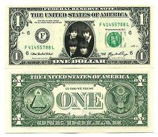 The BEATLES VRAI BILLET de 1 DOLLAR ! JOHN LENNON PAUL Mc CARTNEY Collection