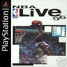 Original Playstation One Game - NBA Live '96