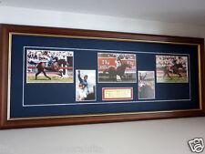 Makybe Diva Glen Boss Signed Melbourne Cup Winner 2003, 2004 & 2005 Horse Racing