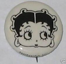 Betty Boop B&W Pin
