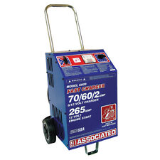 Associated Battery Charger 6/12 Volt, 70/60 Amp Charge, 265 Amp Crank Assist