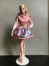 Barbie Doll '2014 Birthday Wishes' Collector in Pink Satin Outfit