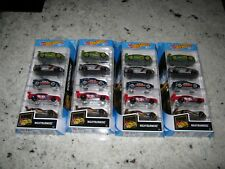 Hot Wheels Nightburnerz 5 Pack x 4 = Honda CRX = Nissan 350Z = Mitsubishi Lancer