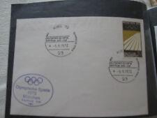 ETB República Federal de Alemania olimpiada 1972 sello Kiel