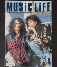 05164 AEROSMITH DAVID LEE ROTH MOTLEY CRUE BRYAN ADAMS MUSIC LIFE Apr. 1994