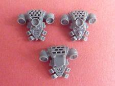 Space Marine Tactical Squad 3 X Mochila (al azar Pick) - bits 40K