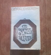 GERALD KERSH - The Hospitality of Miss Tolliver (1965) - short stories - scarce