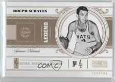 2010-11 Playoff National Treasures Century Gold /5 Dolph Schayes #121 HOF