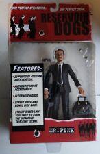 New Reservoir Dogs Mr Pink Action Figure Mezco Toys Steve Buscemi 2001! S2