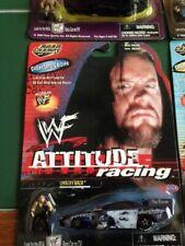 "JERRY TOLIVER WWF ATTITUDE RACING ""UNDERTAKER"" 1/64 NHRA F/C DIECAST W/FIGURINE!"