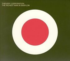 THIEVERY CORPORATION: The Richest Man in Babylon CD (2002) NEW ✧ Free Shipping!