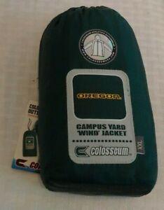Brand New Colosseum Campus Yard Wind Jacket Coat OREGON DUCKS Windbreaker XXL