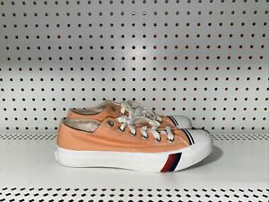 Pro Keds Royal Lo Classic Mens Canvas Athletic Shoes Size 8.5 Cantaloupe Orange