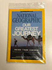 SEALED National Geographic Magazine December 2013 OUR GREATEST JOURNEY