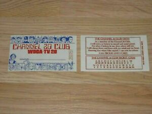 1970s Repro WDCA Channel/Captain 20 Club Card/Count Gore de Vol/Creature Feature
