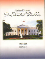 1 HECO Coin Folder Presidential Dollars 2007-2015 Date Set 3 Panel Slot Storage