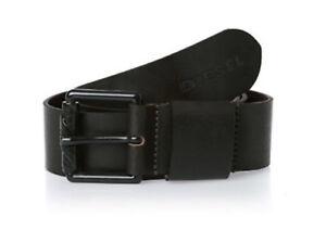 DIESEL Herren Gürtel Bryce Service Belt 85 cm dark brown
