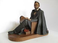 Tom Clark Gnome Abraham Lincoln Museum Piece 1989 Signed In Original Box