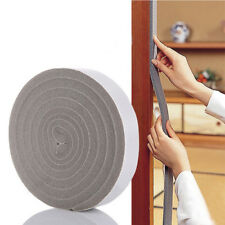 Home Door Window Foam Sticky Tape Strip Seal Noise Insulation Excluder Tape Roll