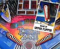 Twilight Zone Flipper Bat Topper MOD for Bally Twilight Zone Pinball Machine