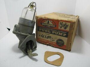 55-58 Studebaker Champion Rebuilt Fuel Pump 4156