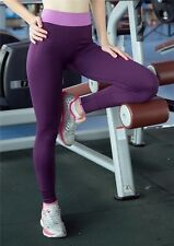 USPS Women High Waist Yoga Fitness Leggings Running Gym Sports Pants Trousers SS