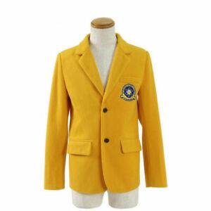 Return of the hero costume cosplay yellow jacket