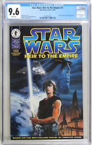 D162. Star Wars: Heir to the Empire #1 CGC 9.6 NM+ (1995) 1st app of Thrawn